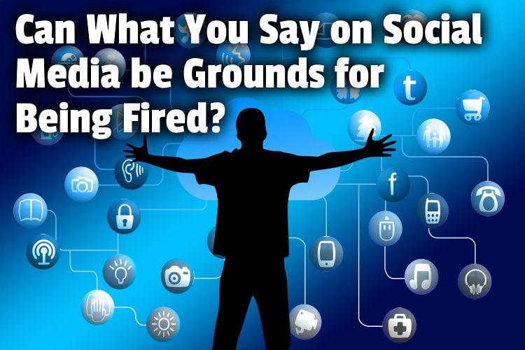 social media grounds firing lg